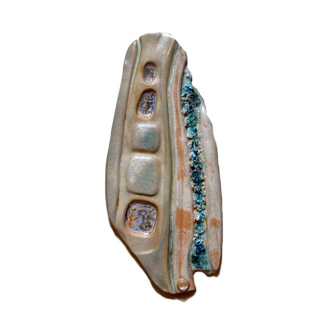 Green Mist, Stoneware Clay, 2006