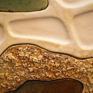 Pangaea, (detail) - Earthenware Clay, 2010